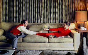 Audrey Hepburn at home with Mel Ferrercirca 1958 © 1978 Bob Willoughby - Image 0033_2475