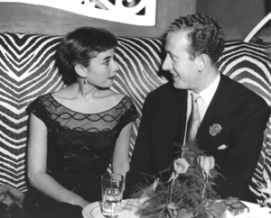 Audrey Hepburn and James Hanson at the El Morocco in New YorkNov. 1951**I.V. - Image 0033_2487