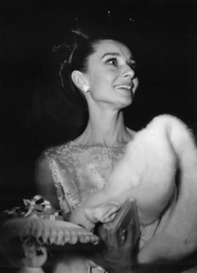 """Audrey Hepburn at the premiere of """"My Fair Lady""""1964 © 1978 Sid Avery - Image 0033_2497"""