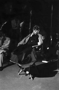 """Audrey Hepburn on the set of """"Sabrina""""1953© 2007 Mark Shaw - Image 0033_2521"""