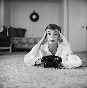 Audrey Hepburn1953© 2000 Mark Shaw - Image 0033_2588