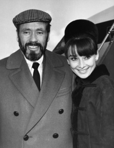Mel Ferrer and Audrey Hepburn in London1967** J.C.C. - Image 0033_2662