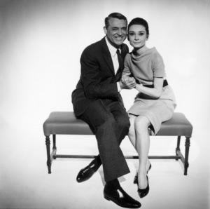 """Charade""Cary Grant, Audrey Hepburn1963** I.V. - Image 0033_2665"
