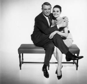 """Charade""Cary Grant, Audrey Hepburn1963** I.V. - Image 0033_2667"