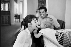 James Garner, Audrey Hepburn, Sean Ferrer, 1961. © 1978 Bob Willoughby - Image 0033_4004