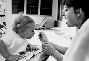 Audrey Hepburn with her son, Sean Ferrer1961© 1978 Bob Willoughby - Image 0033_4009