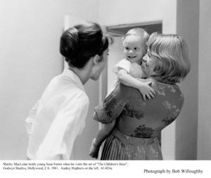 Audrey Hepburn, Sean Ferrer, Shirley MacLaine, 1961. © 1978 Bob Willoughby - Image 0033_4012