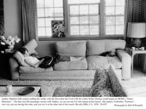 Audrey Hepburn, 1958. © 1978 Bob Willoughby - Image 0033_4015