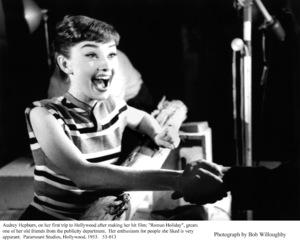 Audrey Hepburn, 1953. © 1978 Bob Willoughby - Image 0033_4017