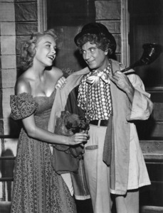 Harpo Marx in an ad for All-Pure Evaporated Milk1957 © 1978 Sid Avery - Image 0034_0001