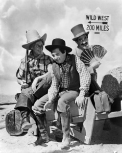 """The Marx Brothers in """"Go West"""" (Harpo, Chico and Groucho)1940 MGM** I.V. / M.T. - Image 0034_0122"""