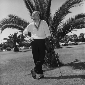 Danny Kaye golfing at Hillcrest Country Club1958 © 1978 Sid Avery - Image 0035_0525