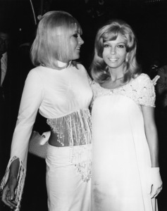 "Kim Novak and Nancy Sinatra at ""The Legend of Lylah Clare"" premiere1968 - Image 0036_0430"