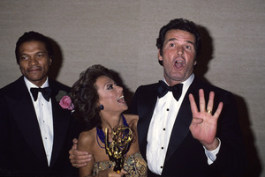 James Garner with Rita Moreno and Billy Dee Williamscirca 1980s© 1980 Gary Lewis - Image 0037_0828