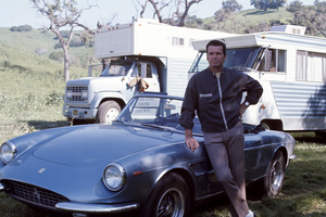 James Garner and his Ferrari 330 GTScirca 1967** J.C.C. - Image 0037_0843