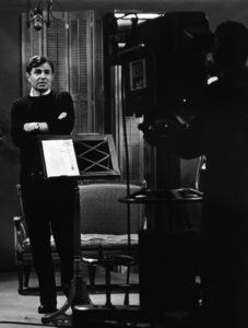 James Mason at NBC Studios in Hollywood, California1955 © 1978 Sid Avery - Image 0038_0054