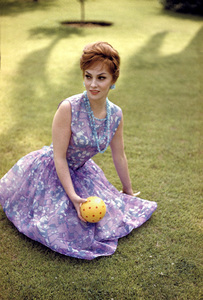 Gina Lollobrigida at the Beverly Hills Hotel in Beverly Hills, California1960 © 1978 Sid Avery - Image 0041_0471