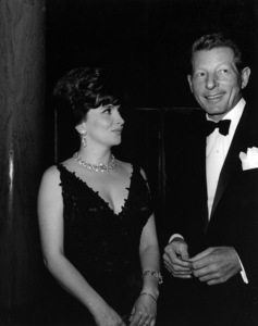 Gina Lollobrigida talking to Danny Kaye at Screen Producers dinnercirca 1960sPhoto by Joe Shere - Image 0041_2024