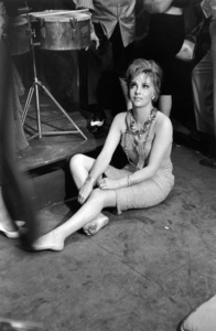 """Gina Lollobrigida during the filming of """"Go Naked in the World""""1960 © 1978 Sid Avery - Image 0041_2028"""