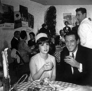 Gina Lollobrigida with Rock Hudsoncirca 1960sPhoto by Joe Shere - Image 0041_2029