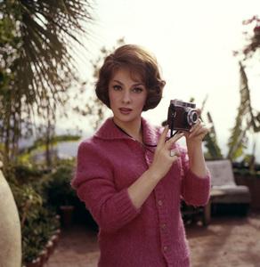 Gina Lollobrigida circa 1960s © 1978 Leo Fuchs - Image 0041_2037