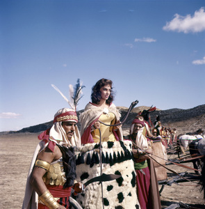 """Solomon and Sheba""Gina Lollobrigida1959 United Artists © 1978 Leo Fuchs - Image 0041_2040"