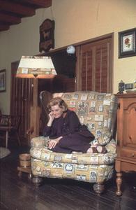 Rose Marie at home.Feb. 1970 © 1978 Gene Trindl - Image 0044_0006