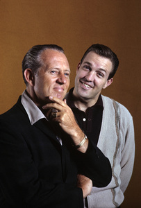 Art Linkletter and son Jack1962 © 1978 Gene Trindl - Image 0046_1241