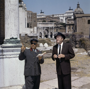 Van Heflin with a tour guide in Italycirca 1950s© 1978 Paul Hesse - Image 0053_0026