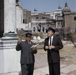 Van Heflin with a tour guide in Italycirca 1950s© 1978 Paul Hesse - Image 0053_0026