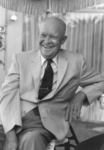Dwight D. Eisenhower at home in Palm Springs, CA1961 © 1986 Sid Avery - Image 0060_0001