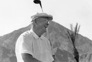 Dwight D. Eisenhower at home in Palm Springs, CA1961 © 1986 Sid Avery - Image 0060_0005