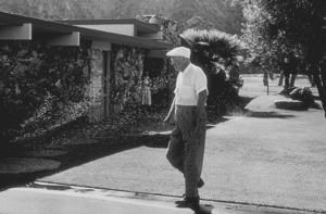 Dwight D. Eisenhower at home in Palm Springs, CA, 1961. © 1986 Sid Avery - Image 0060_0006