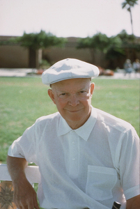 Dwight D. Eisenhower in Palm Springs, CA, 1961. © 1978 Sid Avery MPTV - Image 0060_0009
