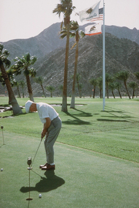 Dwight D. Eisenhower in Palm Springs, CA, 1961. © 1978 Sid Avery MPTV - Image 0060_0010