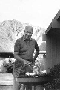 Dwight D. Eisenhower at home in Palm Springs, CA1961 © 1986 Sid Avery - Image 0060_0015