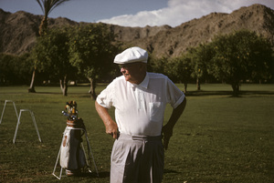 Dwight D. Eisenhower playing golf at La Quinta1961 © 1978 Sid Avery - Image 0060_0219