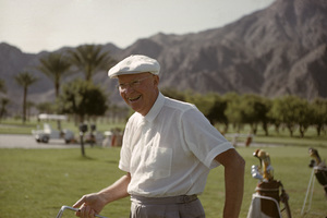 Dwight D. Eisenhower playing golf at La Quinta1961 © 1978 Sid Avery - Image 0060_0226