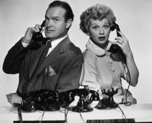 """Lucille Ball and Bob Hope in""""Sorrowful Jones""""1949 ParamountMPTV - Image 0060_0640"""