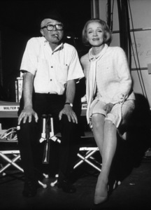 """""""Fortune Cookie""""Billy Wilder and visitor to the set,Marlene Dietrich1966 UA / MPTV - Image 006421_0016"""