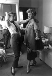 Shelley Wintersin her dressing room1960 © 1978 Roger Marshutz - Image 0065_0154