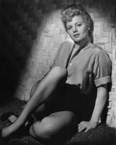 """Shelley Winters in """"I Died a Thousand Times"""" 1955 Warner Brothers Photo by Bert Six - Image 0065_0155"""