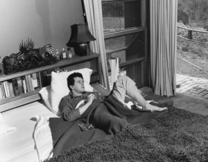 Rock Hudson at his North Hollywood home1952© 1978 Sid Avery - Image 0067_0016