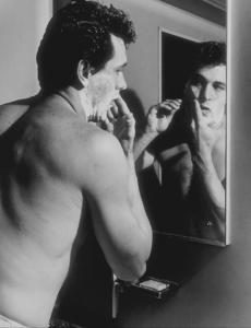 Rock Hudson at home in North Hollywood, CA, 1952. © 1978 Sid Avery MPTV - Image 0067_0020