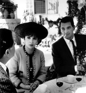 Gina Lollobrigida, Rock HudsonAt a party, 1966Copyright John Swope Trust / MPTV - Image 0067_1048