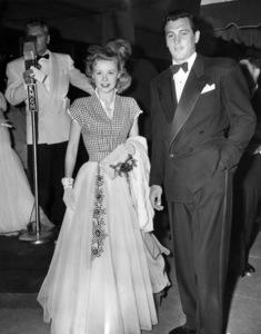 Vera-Ellen and Rock Hudson at a 1949 film premiere** I.V. - Image 0067_1142