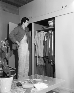 Rock Hudson at home1952© 1978 Sid Avery - Image 0067_1144