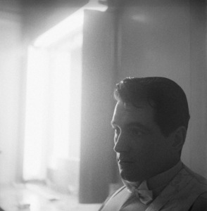 """Rock Hudson during the making of """"One Desire"""" 1954 © 1978 Bob Willoughby - Image 0067_1154"""