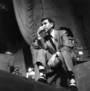 Jack Webb At a Cerbal Palsy Fundraiser, 1953. © 1978 Sid Avery 0068-1008 - Image 0068_1008