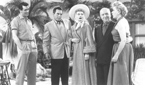 """I Love Lucy""Rock Hudson, Vivian Vance, William Frawley, Desi Arnaz, Lucille Ballcirca 1955 - Image 0069_0705"